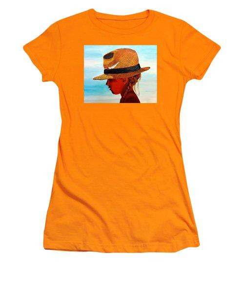 Hello Mr. Sunshine Women's T-Shirt (Athletic Fit)