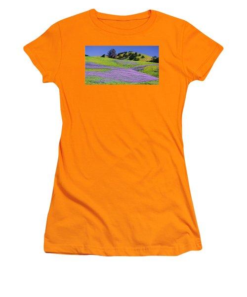 Hillside Carpet Women's T-Shirt (Junior Cut) by Josephine Buschman