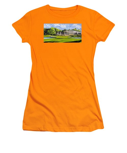 Hole 18 Jcc Women's T-Shirt (Athletic Fit)