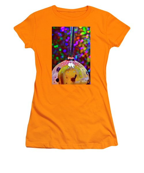 Holographic Fruit Drop Women's T-Shirt (Athletic Fit)