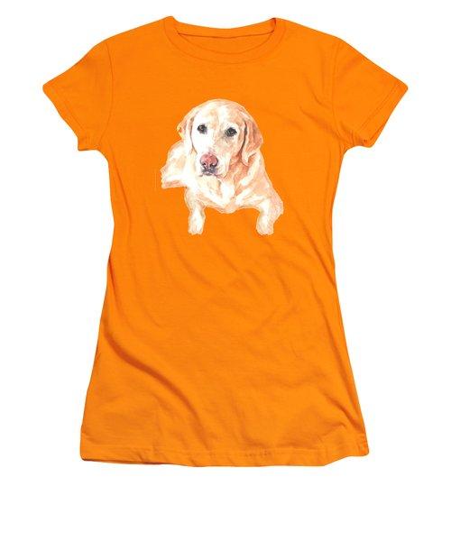Honey Lab T-shirt Women's T-Shirt (Junior Cut) by Herb Strobino