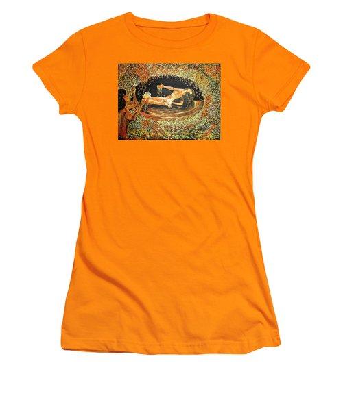 Honeybee Women's T-Shirt (Athletic Fit)