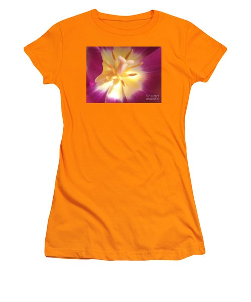 Women's T-Shirt (Junior Cut) featuring the pyrography Hope by Lori Lovetere