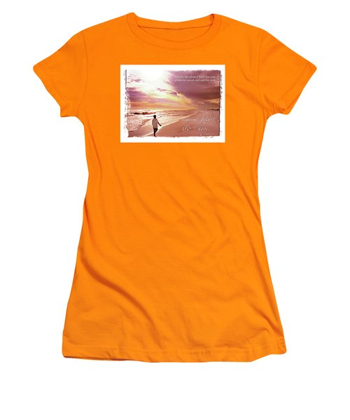 Horizon Of Hope Women's T-Shirt (Junior Cut) by Marie Hicks