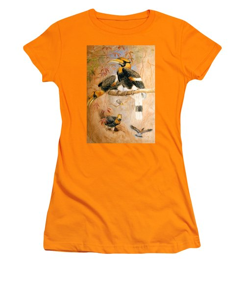 Hornbill  Women's T-Shirt (Junior Cut)