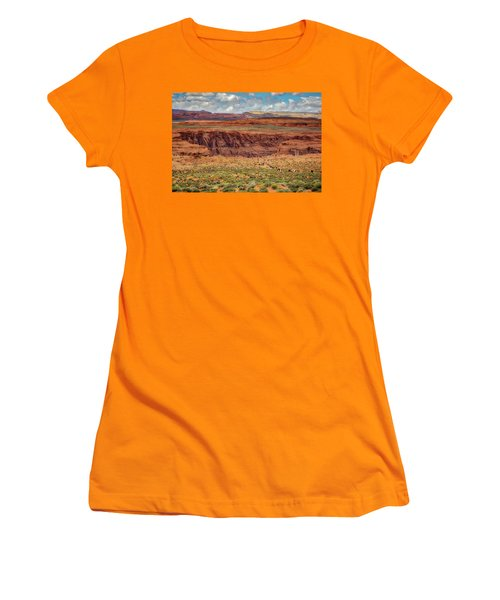 Horseshoe Bend Arizona #2 Women's T-Shirt (Junior Cut) by Jennifer Rondinelli Reilly - Fine Art Photography