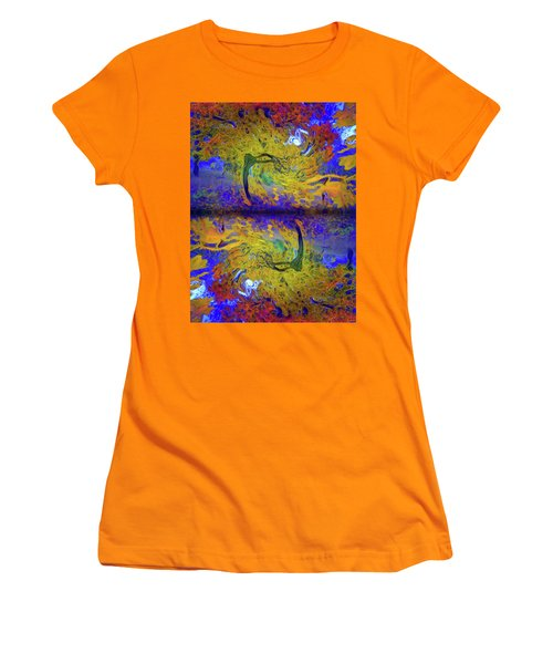 Women's T-Shirt (Junior Cut) featuring the photograph I Will Dance With You In This Storm by Tara Turner