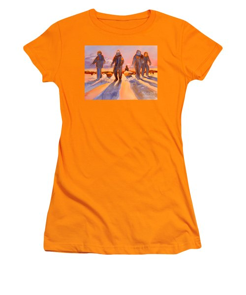 Ice Men Come Home Women's T-Shirt (Athletic Fit)