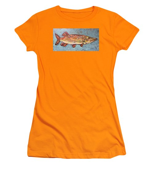 Ike The Pike Women's T-Shirt (Athletic Fit)
