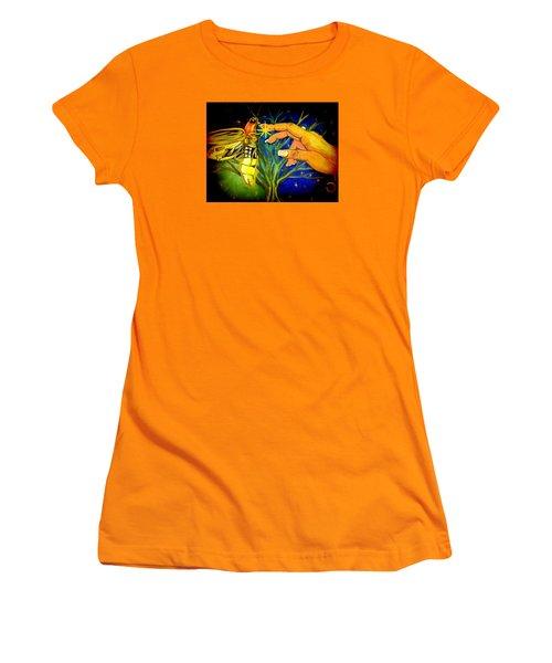 Illumination Women's T-Shirt (Junior Cut) by Alexandria Weaselwise Busen