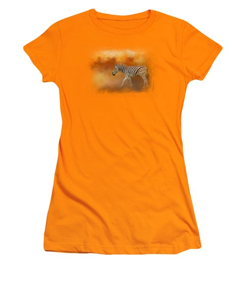 In The Heat Of Summer Women's T-Shirt (Athletic Fit)