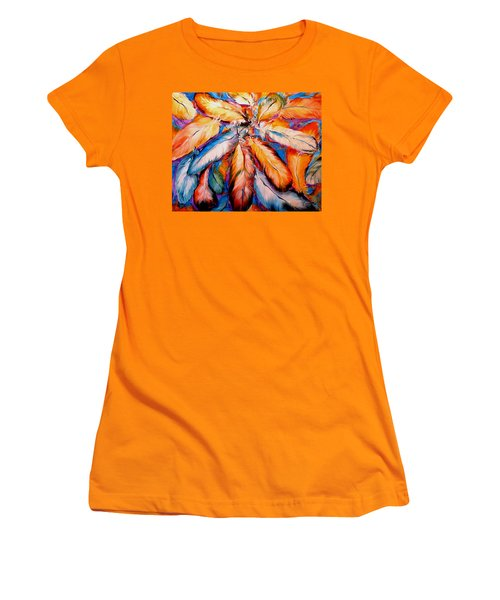 Indian Feathers 2006 Women's T-Shirt (Athletic Fit)