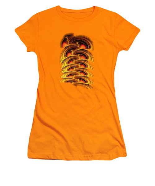 Inferno Women's T-Shirt (Junior Cut) by Anastasiya Malakhova