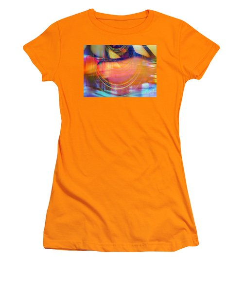 Women's T-Shirt (Junior Cut) featuring the digital art Inner View by Fania Simon