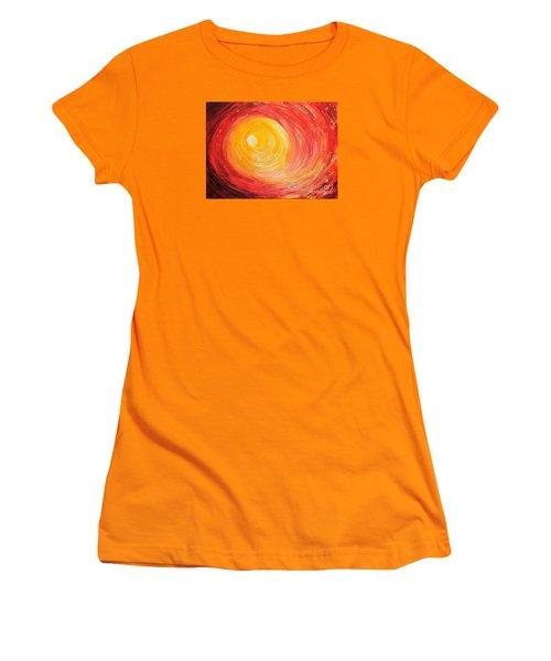Into The Light Women's T-Shirt (Junior Cut) by Teresa Wegrzyn