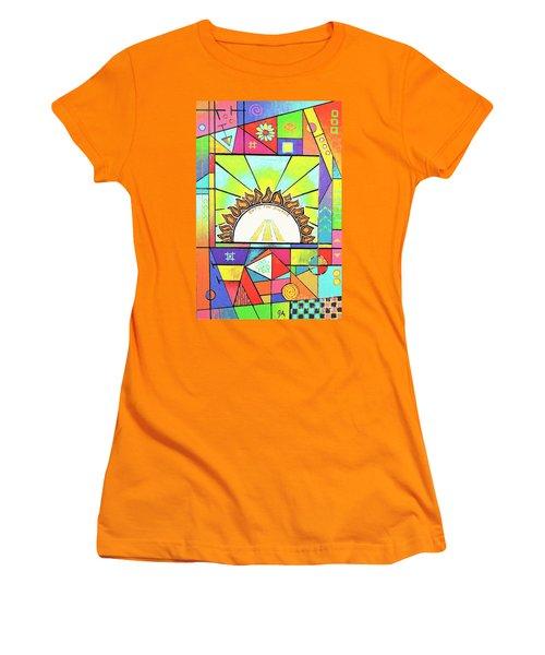 Into The Sun Women's T-Shirt (Junior Cut) by Jeremy Aiyadurai