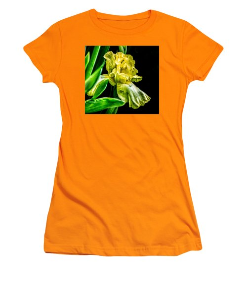 Iris In Bloom Women's T-Shirt (Athletic Fit)