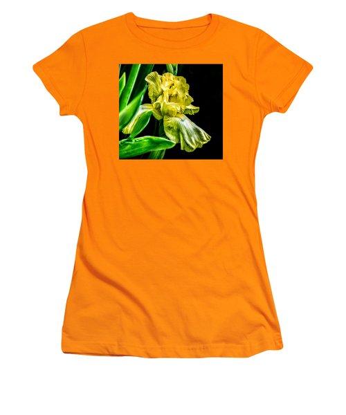 Iris In Bloom Women's T-Shirt (Junior Cut)