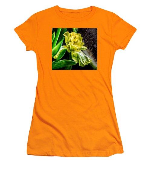 Iris In Bloom Two Women's T-Shirt (Junior Cut)