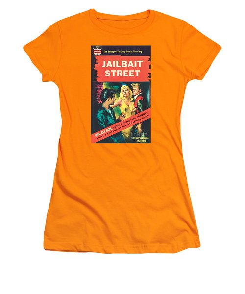Jailbait Street Women's T-Shirt (Junior Cut) by Ray Johnson