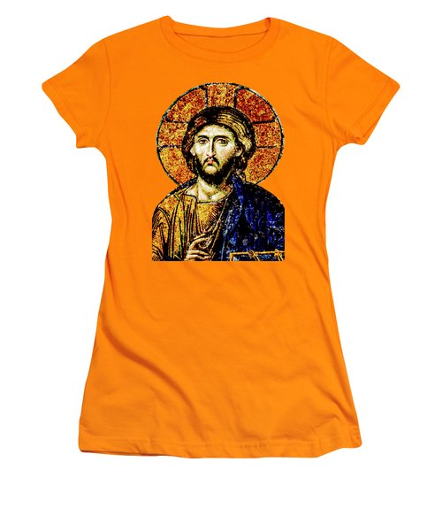 Jesus Christ, Pantocreator Women's T-Shirt (Athletic Fit)