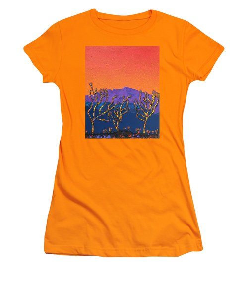 Joshua Trees Women's T-Shirt (Athletic Fit)