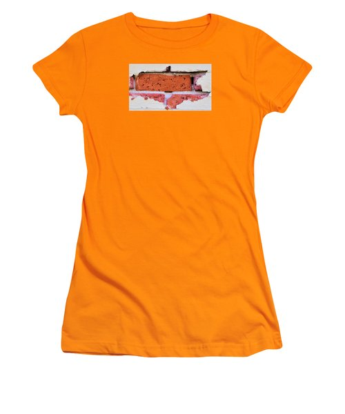 Just Another Brick In The Wall Women's T-Shirt (Junior Cut) by Josephine Buschman