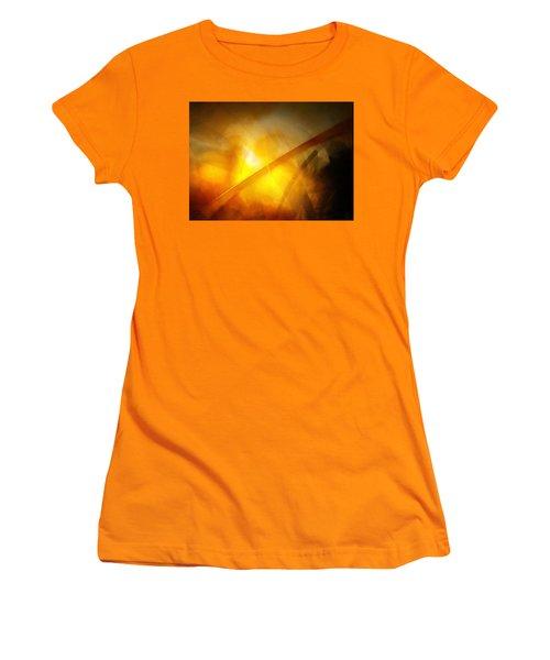 Just Light Women's T-Shirt (Junior Cut) by Gun Legler