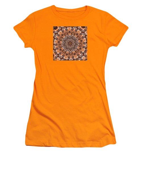 Kaleidoscope 121 Women's T-Shirt (Junior Cut) by Ron Bissett