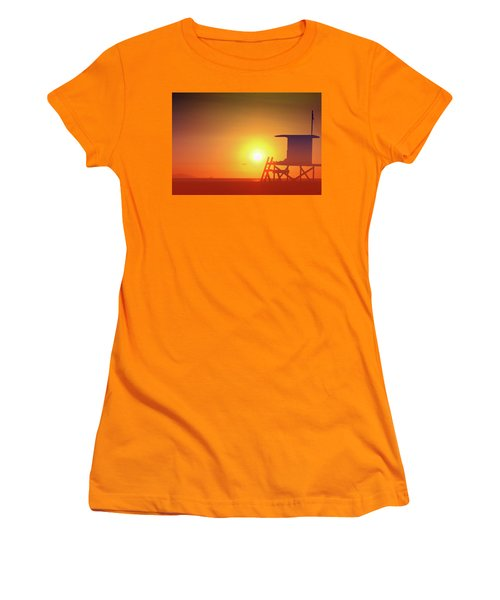 Kicking It Women's T-Shirt (Junior Cut) by Everette McMahan jr