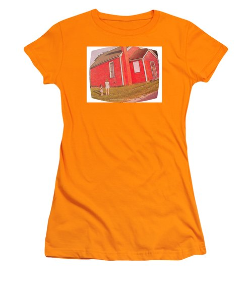 Kindergarten Avon Il Circa 1950s Women's T-Shirt (Athletic Fit)