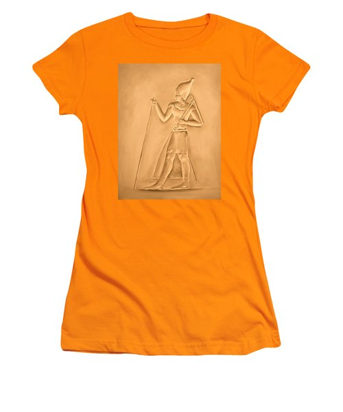 Women's T-Shirt (Junior Cut) featuring the painting King by Elizabeth Lock