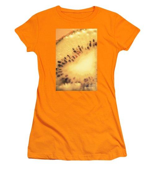 Kiwi Margarita Details Women's T-Shirt (Junior Cut) by Jorgo Photography - Wall Art Gallery