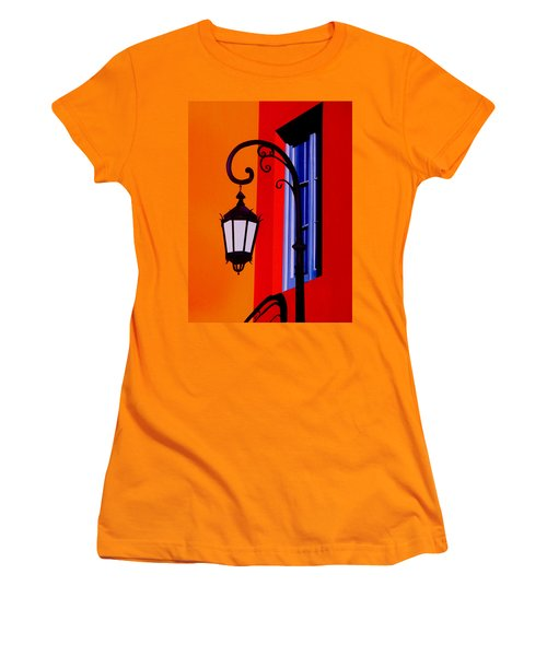 La Boca Cityscape #39 Women's T-Shirt (Athletic Fit)
