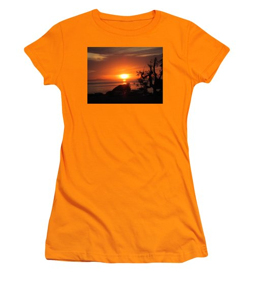Laguna Beach California Feb 2016 Women's T-Shirt (Junior Cut) by Dan Twyman
