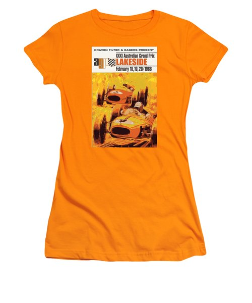 Lakeside Racing Women's T-Shirt (Junior Cut)