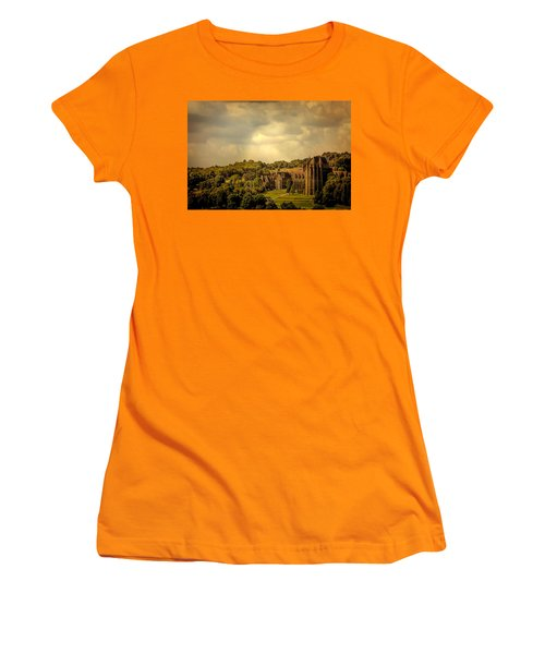 Women's T-Shirt (Junior Cut) featuring the photograph Lancing College by Chris Lord