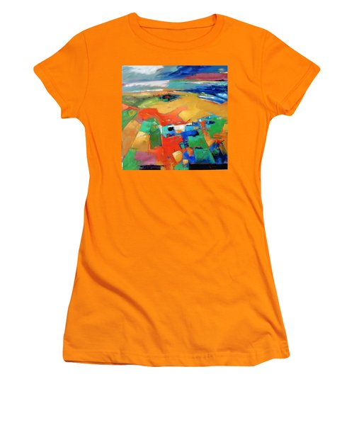Landforms, Suggestion Of A Memory Women's T-Shirt (Junior Cut) by Gary Coleman