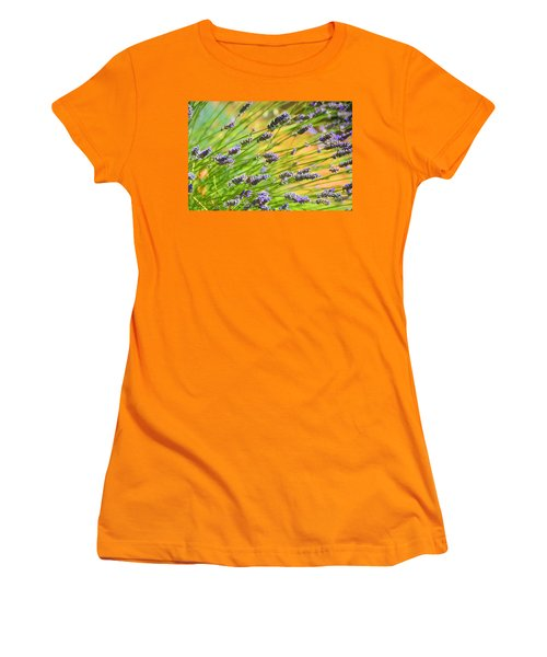 Lavender Women's T-Shirt (Athletic Fit)