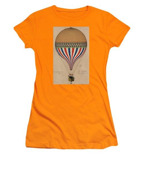 Le Tricolore Women's T-Shirt (Athletic Fit)