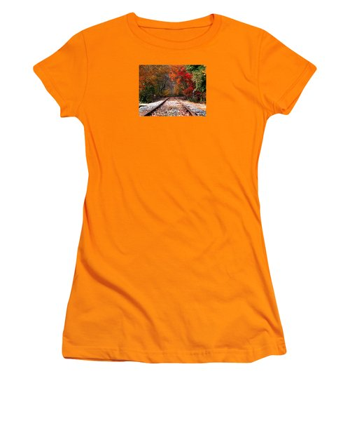 Lead Me Home Women's T-Shirt (Junior Cut) by Angela Davies