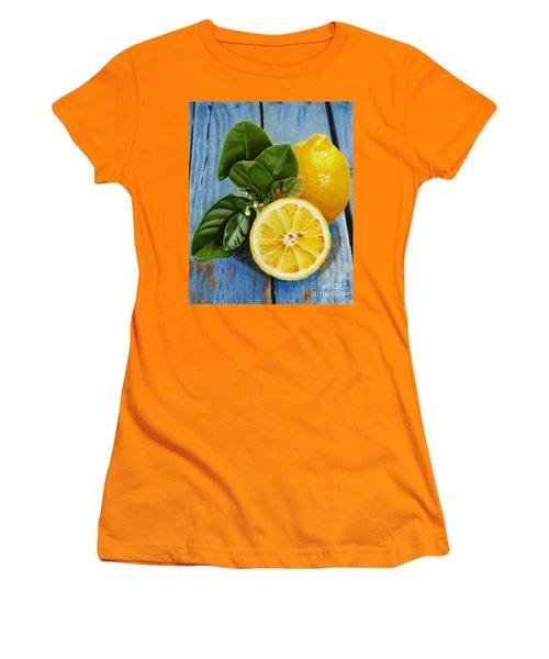Lemon Fresh Women's T-Shirt (Athletic Fit)