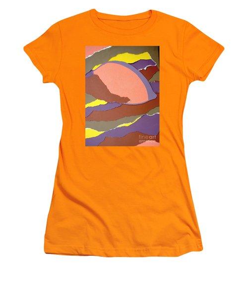 Lemon Twist Women's T-Shirt (Athletic Fit)
