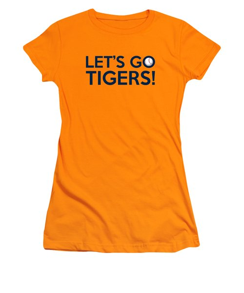 Let's Go Tigers Women's T-Shirt (Athletic Fit)