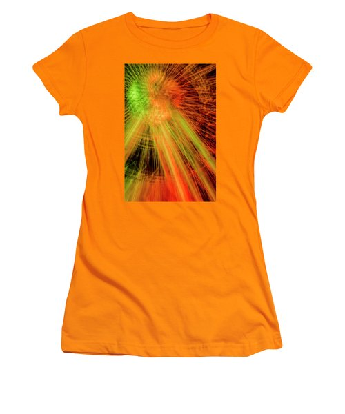 Light Painting At Night Women's T-Shirt (Athletic Fit)