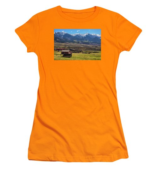 Like An Old Western Movie Women's T-Shirt (Junior Cut) by James BO Insogna