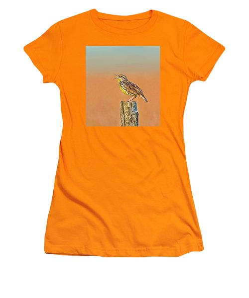 Little Songbird Women's T-Shirt (Athletic Fit)