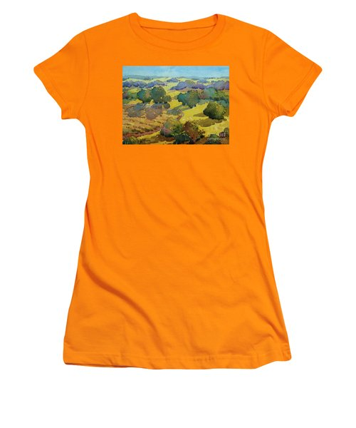 Los Olivos Impression Women's T-Shirt (Athletic Fit)