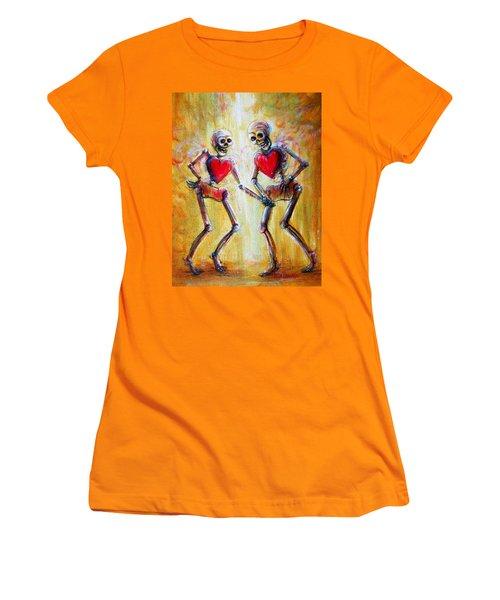 Love 2 Love Women's T-Shirt (Junior Cut) by Heather Calderon