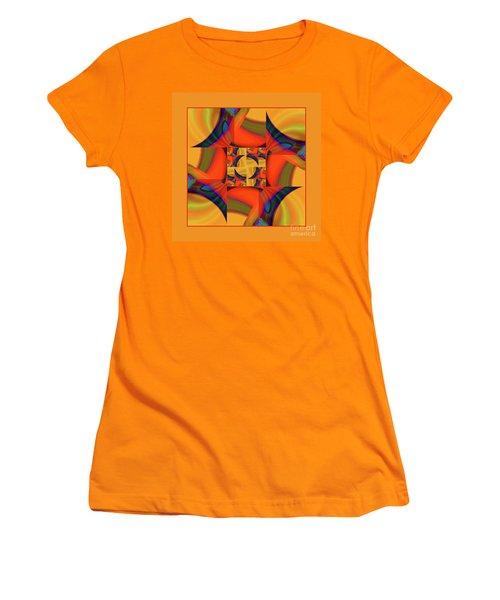 Mandala #56 Women's T-Shirt (Junior Cut) by Loko Suederdiek